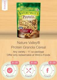 *High Value* $3 Nature Valley Granola iBotta = $.28 at Winco or $.98 at Walmart!
