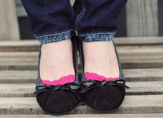 FREE $5 Credit to Spend at Modern Penny = FREE Adorable Peep Toe Socks!