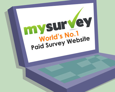 Earn Extra Money with MySurvey.com Paid Survey Panel