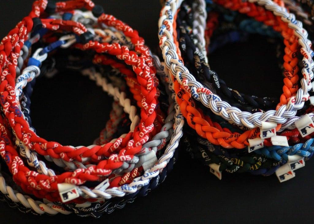MLB titanium necklaces