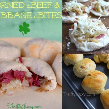 Corned Beef and Cabbage Bites