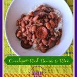Crockpot Red Beans Rice