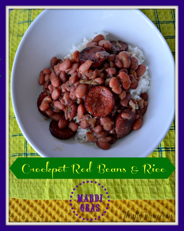 Crockpot Red Beans Rice