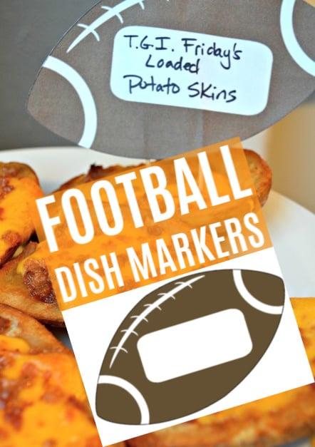 Football Dish Markers