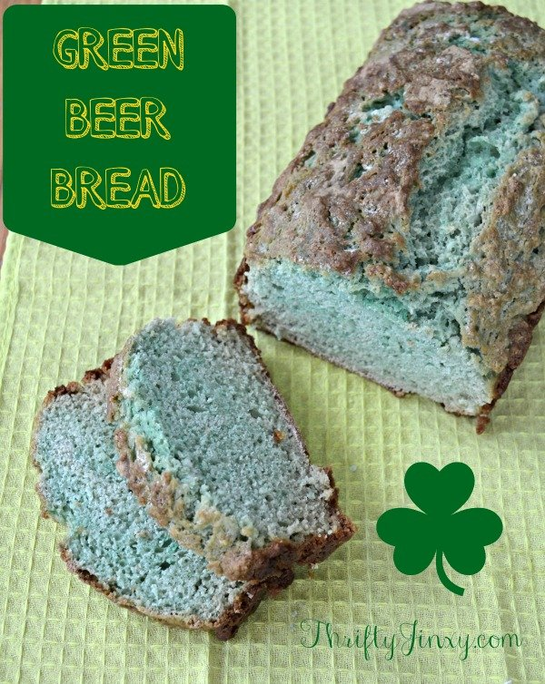 Green Beer Bread Recipe – Easy St Patrick's Day Baking