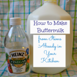 Make a Buttermilk Alternative from Items Already in Your Kitchen