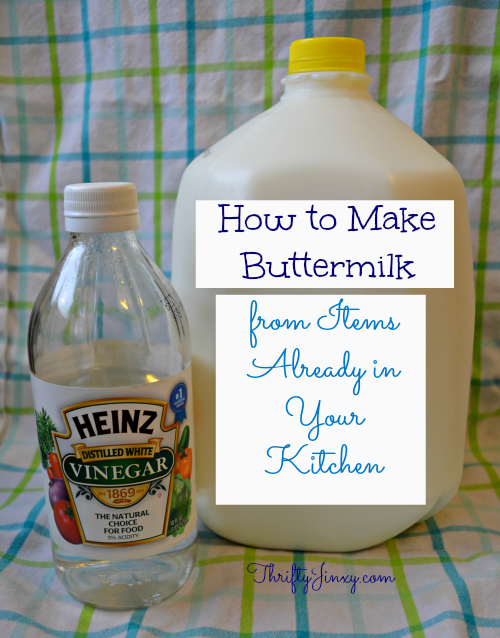 How to Make Buttermilk Alternative