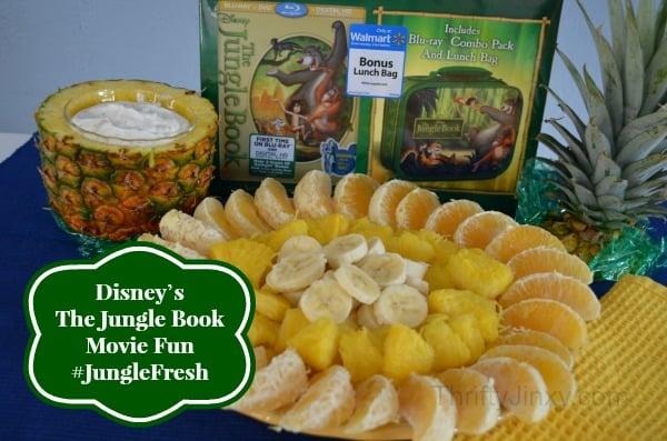 Jungle Book Sunshine Fruit Plate