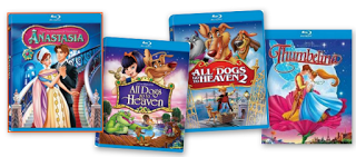 Several GREAT Children's Movies on Blu-Ray only $4.99!