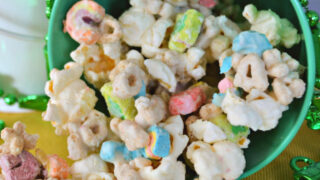 Lucky Charms Popcorn in Pot