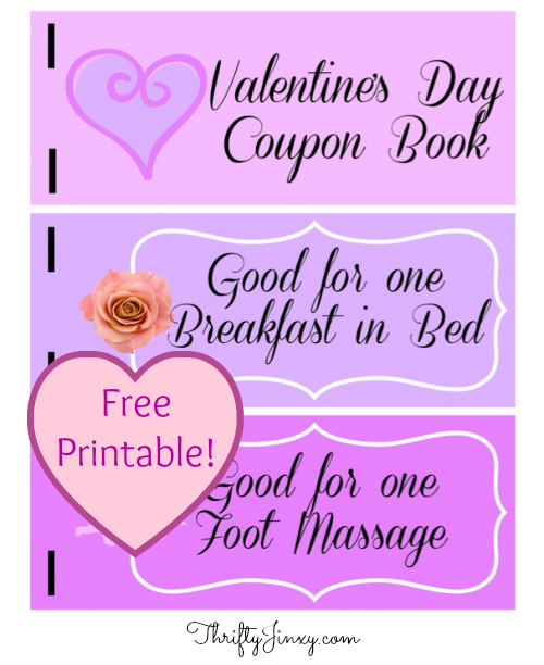 free printable valentine coupon book - Valentines Day Coupon Book