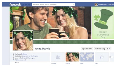 Free St. Patrick's Day Facebook Cover