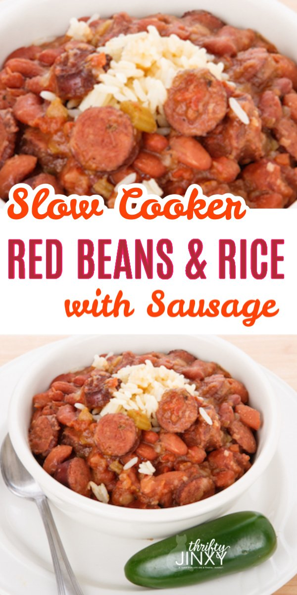 red beans and rice promo graphic