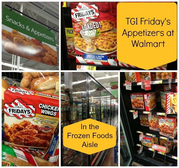 TGI Friday's Appetizers at Walmart