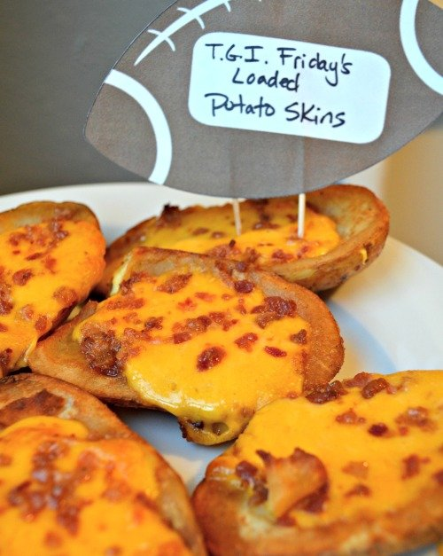 TGI Friday's Loaded Potato Skins #TGIFGameDay #CollectiveBias