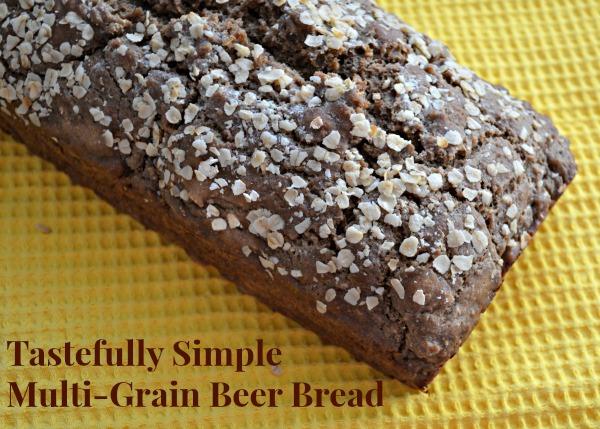Tastefully Simple Multi-Grain Beer Bread Loaf