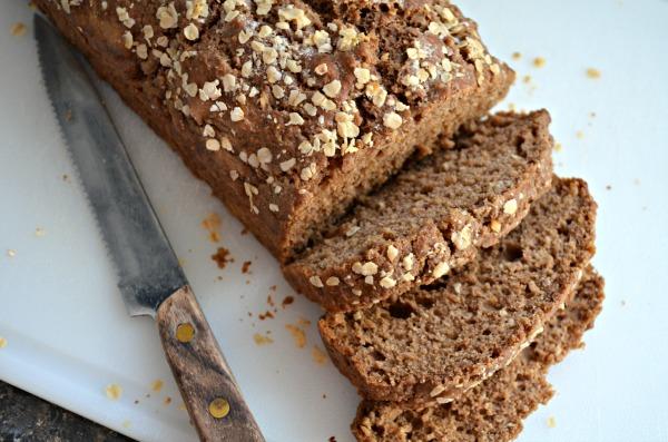 Tastefully Simple Multi-Grain Beer Bread Sliced