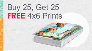 Buy 25 Photo Prints Get 25 FREE from Walgreens!