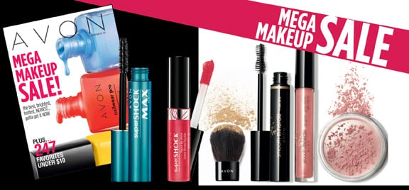 Avon Mega Makeup Sale Prices Starting Shipped