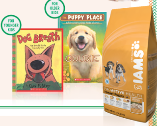 Get a FREE Scholastic Book when You Send in One IAMS Dog Food UPC