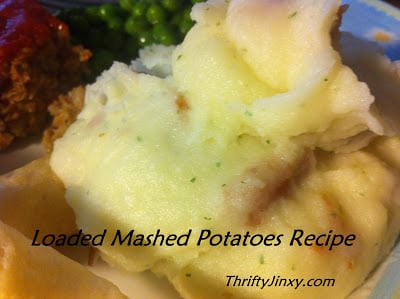 Easy Loaded Mashed Potatoes Recipe (Using Instant Potatoes)