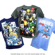 Marvel Comic T-Shirts for Adults and Children only $6.49 Shipped Each!