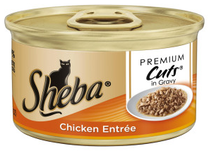 FREE Can of Sheba Cat Food