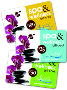 Spa & Wellness Gift Cards by Spa Week 15% off for Dads and Grads – Reader Giveaway