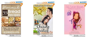 FREE eBooks! Chasing Justice, eBay Unleashed, 35 Homemade Bread Recips, Homeschooling and MORE
