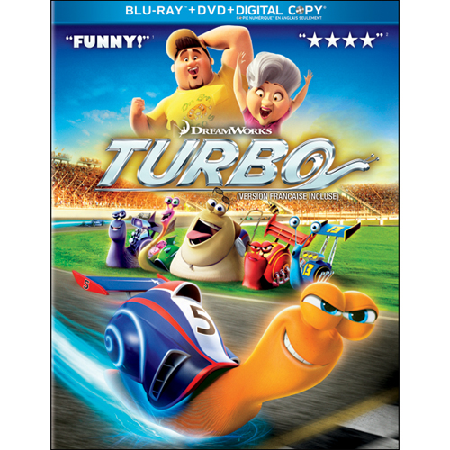 TURBO Now on Blu-ray and DVD – Reader Giveaway