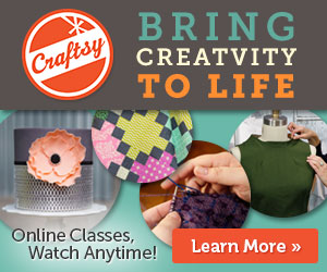 Enter to Win a Class of Your Choice from Craftsy!