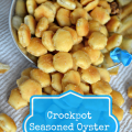 Crockpot Seasoned Oyster Crackers Recipe