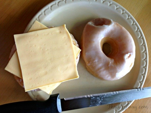 Donut Grilled Cheese 2