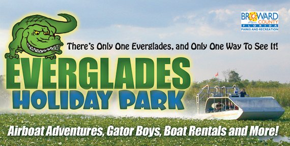 Visit Everglades Holiday Park – Home of the Gator Boys!