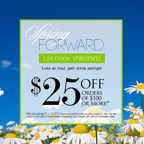 Kiyonna Spring Forward Sale – Save $25 – 2 Days ONLY!
