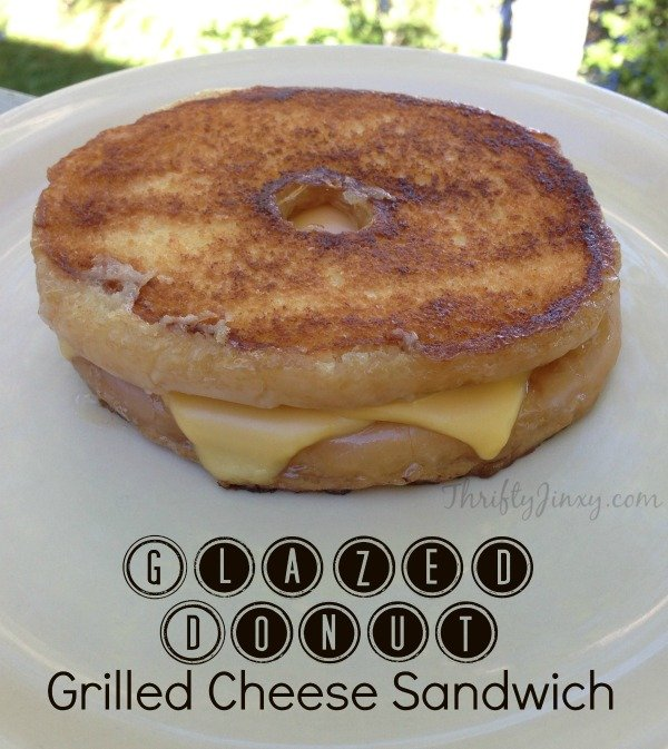 Glazed Donut Grilled Cheese Recipe