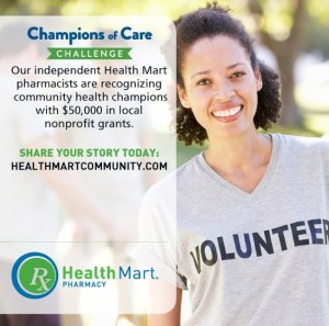 Health Mart Champions of Care Challenge – Celebrate an Unsung Hero