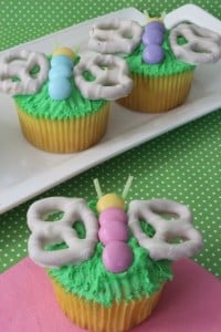 Spring Butterfly Cupcakes Recipe