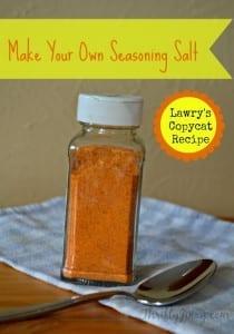 Make Your Own Seasoning Salt – Lawry's Copycat Recipe
