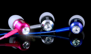 BassBuds with Swarovski Elements Only $19.99 Shipped! 76% Off