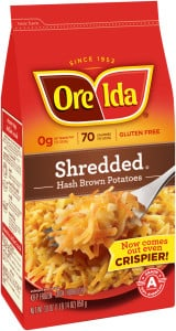 Ore-Ida Shredded Hash Brown Potatoes Printable Coupon