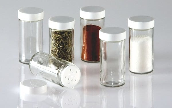 Spice Jars Shaker Tops