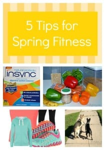 5 Tips for Spring Fitness with Insync Natural Probiotic