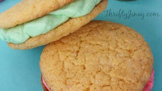 Springtime Frosting Filled Cookies