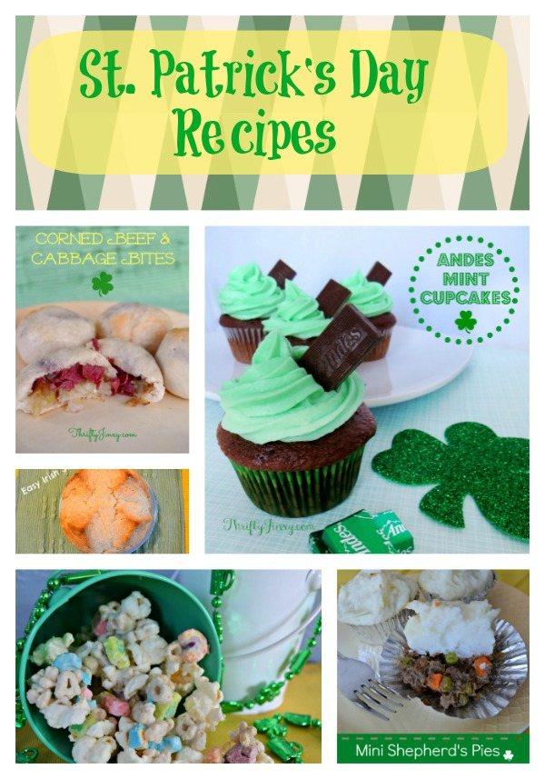 St. Patrick's Day Recipes Round-up