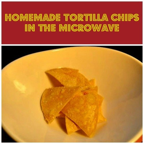 Microwave Tortilla Chips Recipe