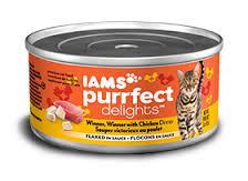 iams canned cat foor