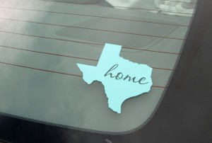 Personalized State Vinyl Decals only $4.99!
