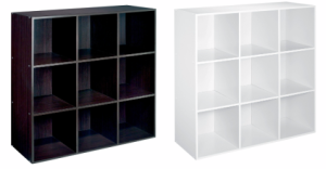 Nice! 9-Cube Shelves only $35.99 from Kmart!