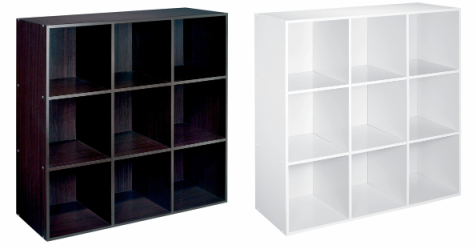 nice  9 cube shelves only  35 99 from kmart  thrifty jinxy Cube Storage Organizer Cube Storage Units